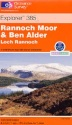 Rannoch Moor Explorer Map