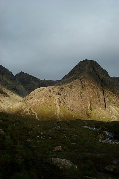 Waterpipe Gully in the Cuillins