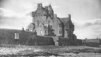 Old Photograph Ackergill Tower Scotland