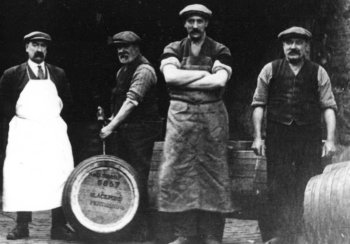 Old Photograph Brewers Scotland
