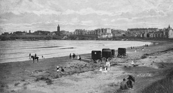 Old Photograph West Sands St Andrews Scotland