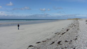 Baleshare Beach North Uist Scotland