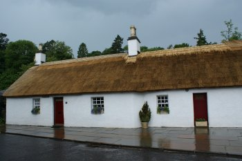 Thatched Cottage Angus Scotland