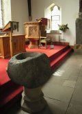 Interior Balquhidder Parish Church Scotland