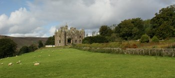 Photograph Balintore Castle Scotland