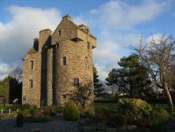 Photograph Claypotts Castle Scotland