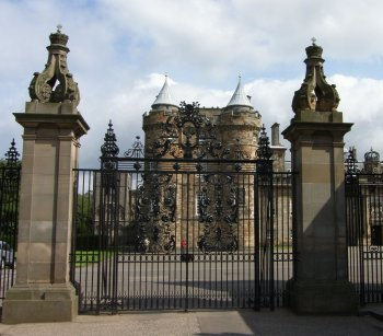 Photograph Holyrood Palace Scotland