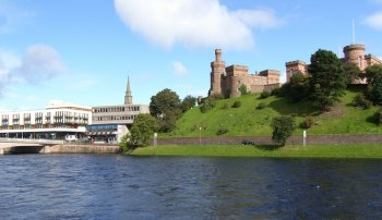 Photograph Inverness Castle Scotland
