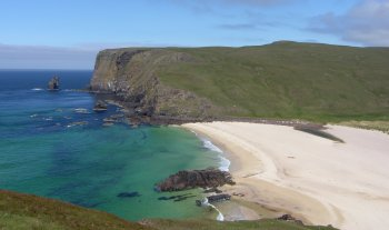 Photograph North View Sandwood Bay Scotland