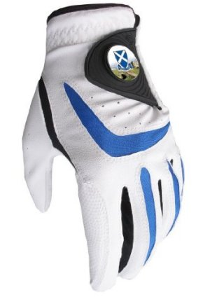 All Weather Golf Glove with St Andrews Old Course Ball Marker and Free Sherpashaw Ball Marker