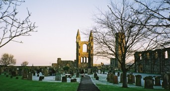 St Andrews Cathedral Sunset